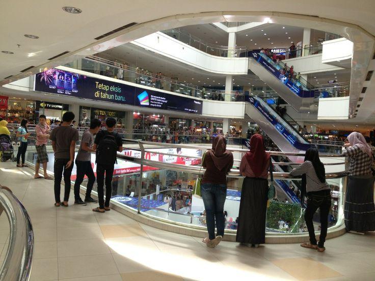 Plaza Medan Fair di Medan, Sumatera Utara