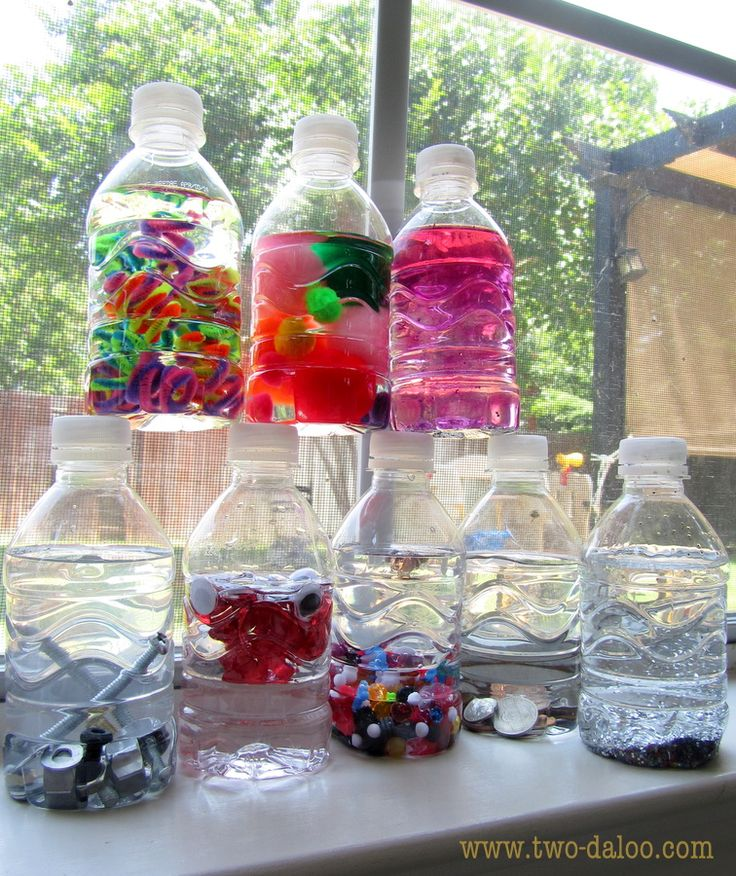 Suggestions for building and storing a sensory play stash for any budget.