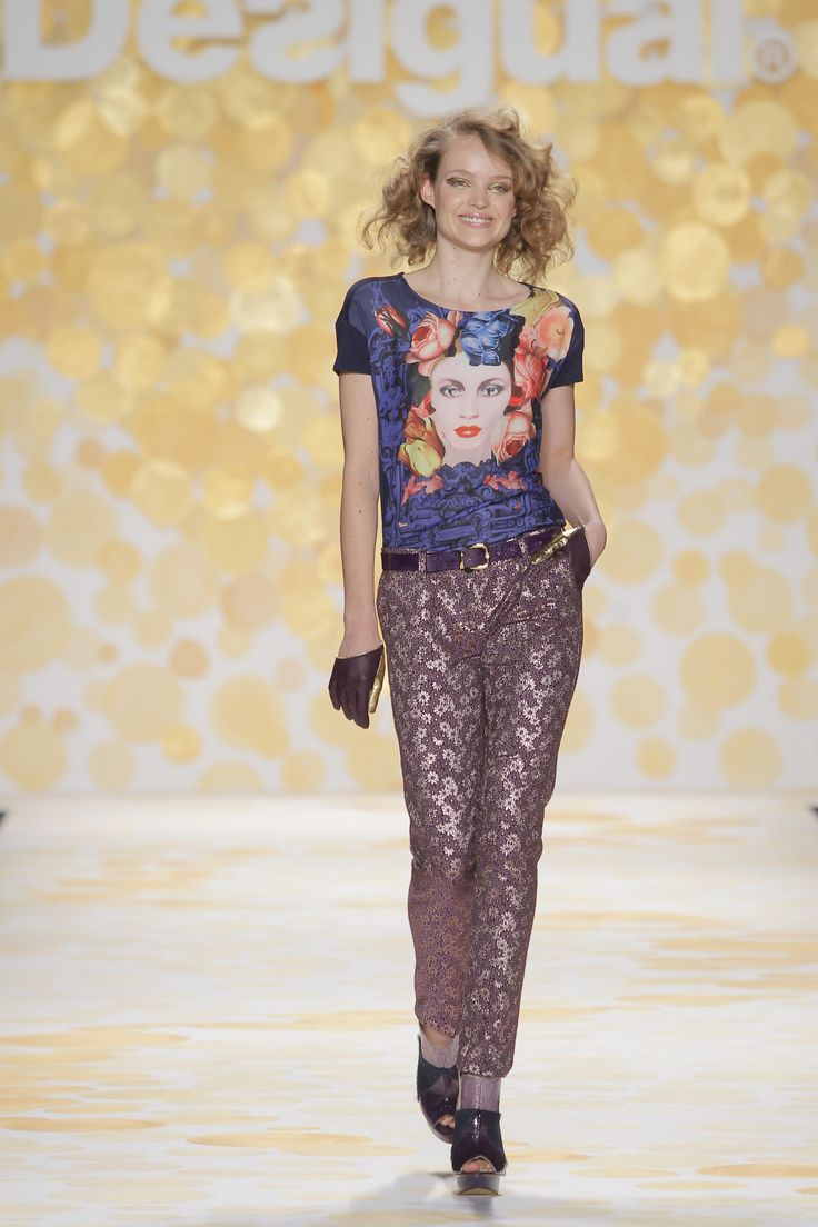 We love the mix of patterns and colors! #NFW