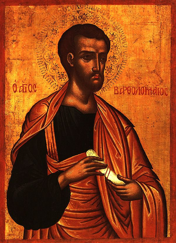 Feast Day of Apostles Bartholomew & Barnabas