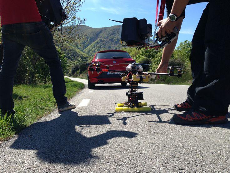 Leon SC natáčení TV spotu