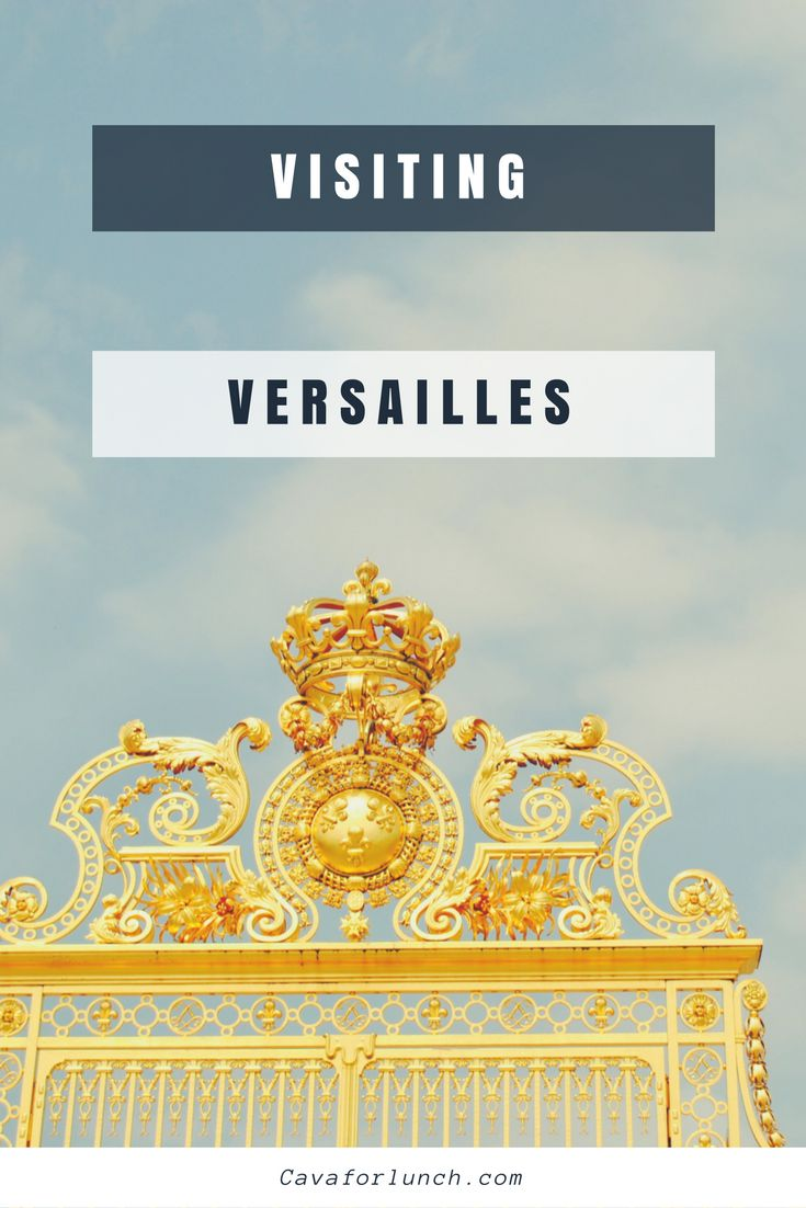 Are you wondering how to get from Paris to Versailles on a day trip? This guide will take you through it! #Paris #Versailles #parisdaytrip