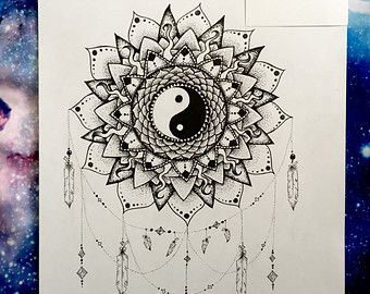 1000+ ideas about Yin Yang Tattoos on Pinterest   Henna drawings ...