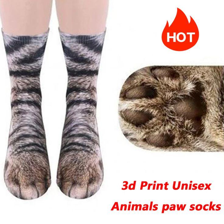3d Print Unisex Adult Children Animal Foot Socks(BUY 1 GET 2ND 10% OFF)
