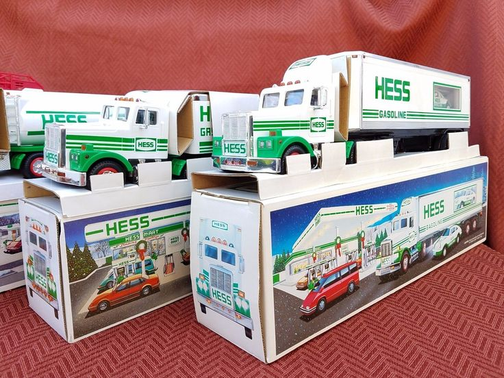 Hess Toy Trucks Lot of 4, 1989 - 1992
