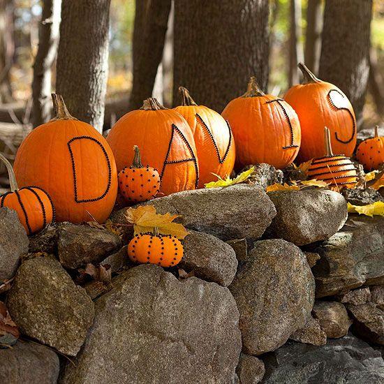Family Name Pumpkins