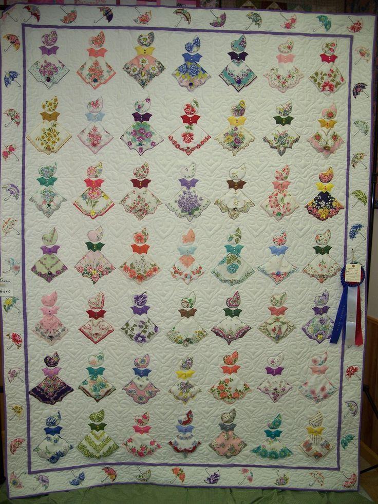 353 best images about Hankie ideas on Pinterest Vintage handkerchiefs, Quilt and Vintage
