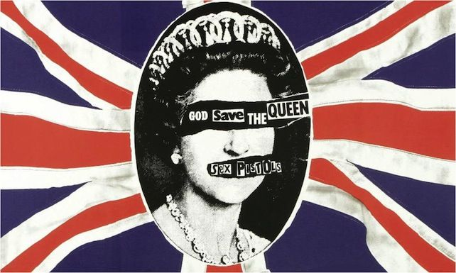 god save the queen album cover - Google Search