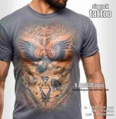 Kaos 3D Six Pack Tattoo, Kaos3D, Kaos3DBagus, WA : 08222 128 3456, LINE : Kaos3DBagus