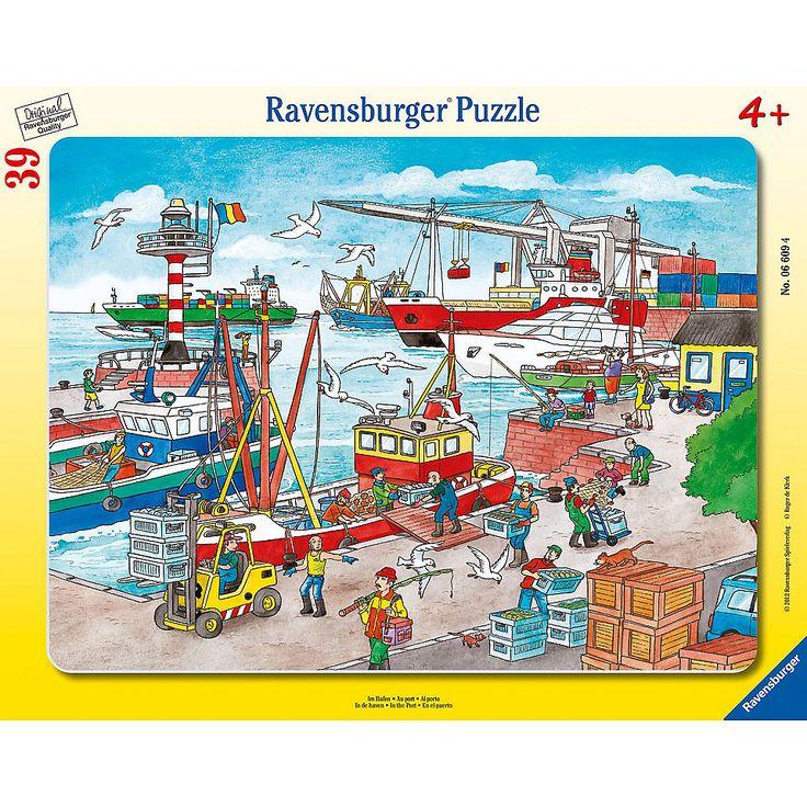 A kikötőben 39 db-os puzzle (Ravensburger) | Pandatanoda.hu Játék webáruház