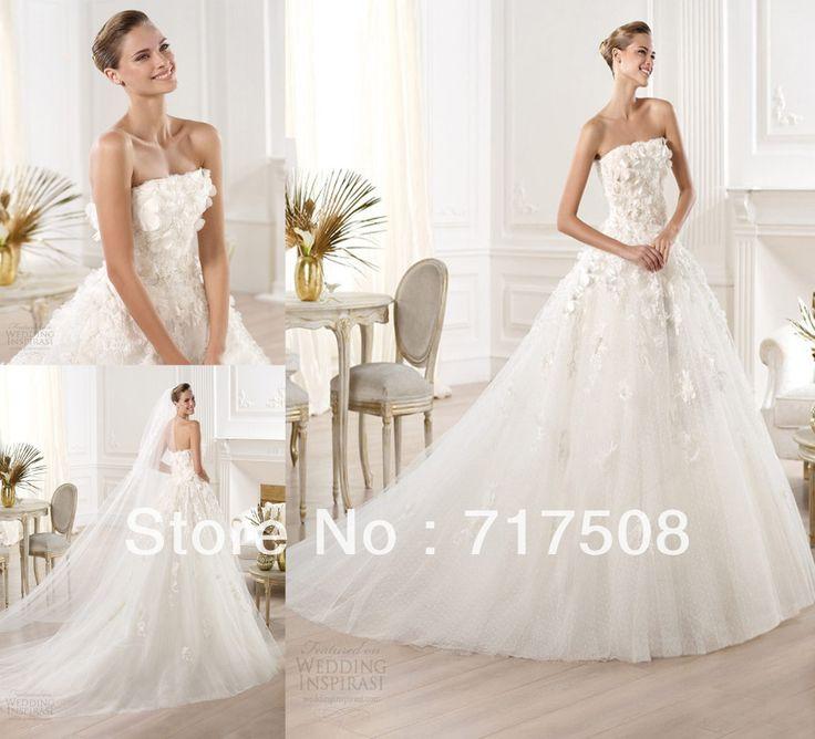125 besten wedding dresses:) Bilder auf Pinterest | Hochzeiten ...