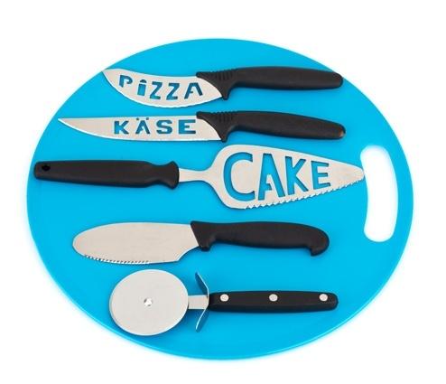 Üzeri Yazılı Peynir ve Pizza Bıçakları   suave.com.tr