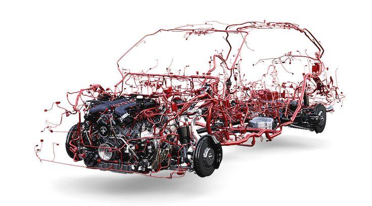El Bentley Bentayga al desnudo, así es su cableado eléctrico