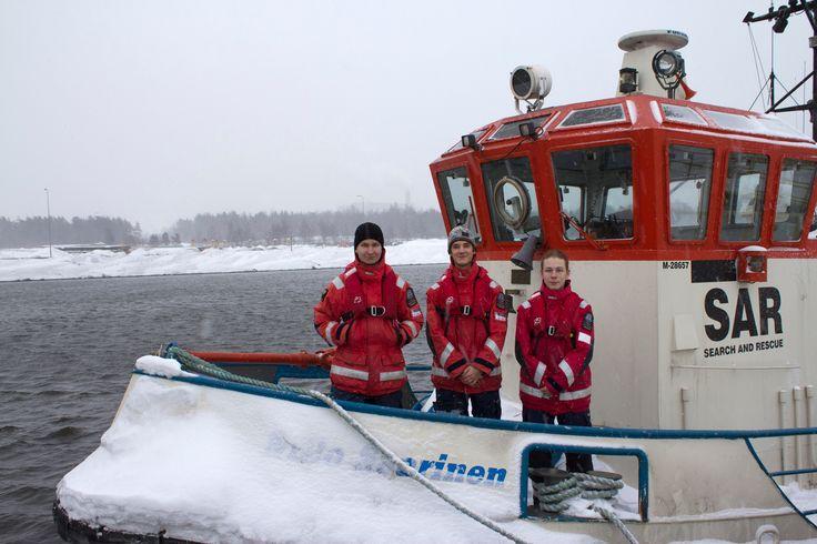SMPS Pr Niilo Saarinen stationed Raahe