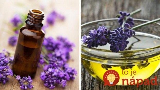 Upokojí podráždenú pokožku a pomôže zaspať: Vyrobte si levanduľový olej len z 2 prísad!