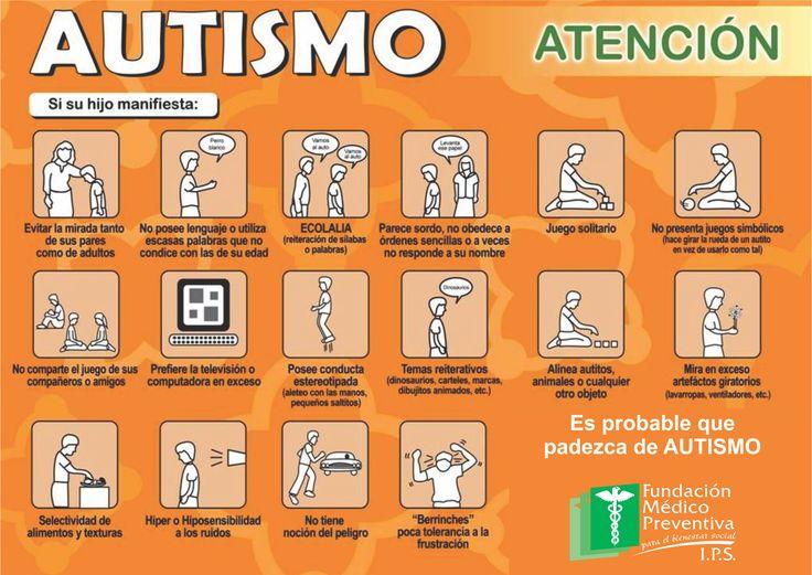 síntomas #autismo