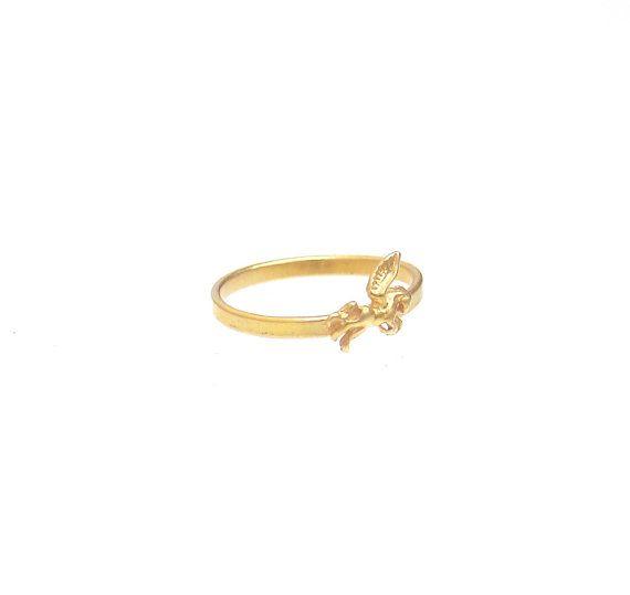 Pegasus Ring  Greek Mythology Ring  Winged Horse by profoundgarden