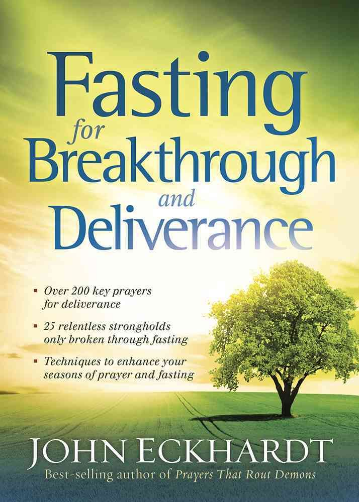 Matthew 17:21 tells us that there are some spirits in a person, region, or nation that cannot be overcome without fasting. Many believers struggle with certain limitations that they cannot seem to bre