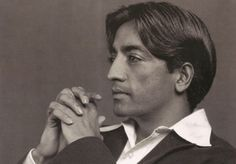 """Jiddu Krishnamurti. """"Discovered"""" as a boy on a beach in India by the theosophist Leadbetter & proclaimed the manifestation of the Maitreya (a la Sri Krishna & Jesus). As Krishnamurti matured, he wanted nothing to do with the reverence and adoration of the masses & quit Theosophy altogether. He was a lifelong celibate."""