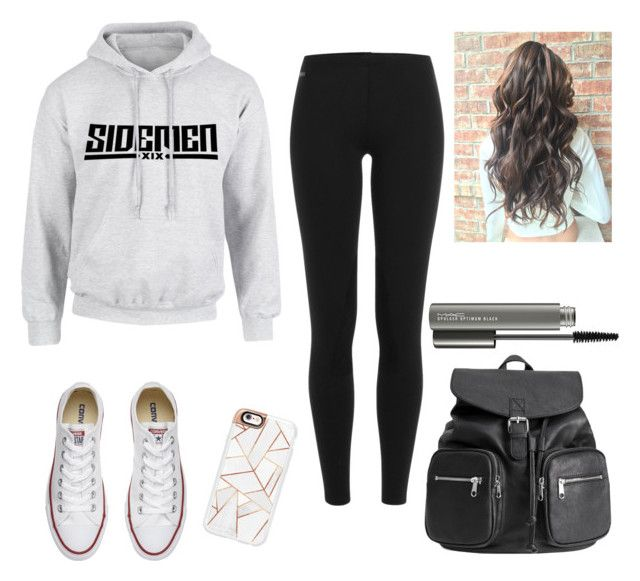 """""""Day with the sidemen ❤️❤️❤️"""" by steph-colexo ❤ liked on Polyvore featuring Polo Ralph Lauren, Converse, Casetify, H&M and MAC Cosmetics"""