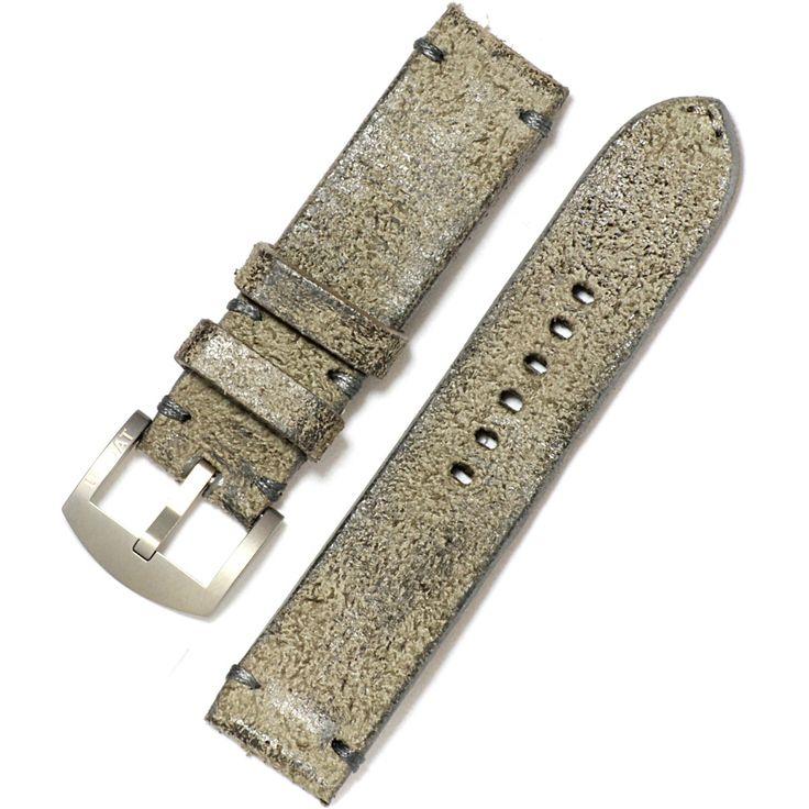 U-Boat Vintage Armband braunes Kalbsleder mit Dornschließe  -  Uhrenarmbänder U-Boat