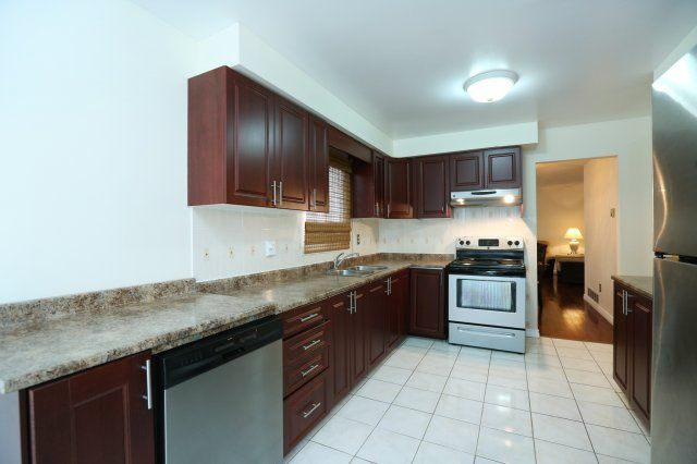 """Renovated Kitchen with eat-in Breakfast area and Walk-Out to fenced """"Private"""" backyard.  www.LancasterLuxuryHomes.com"""