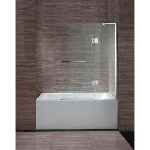 New Waves Clark 40 Quot Bathtub Screen Bathroom Remodel