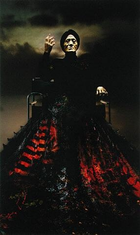 Mahuika, Lisa Reihana. colour photograph on aluminium, 2001, Auckland Art Gallery Toi o Tamaki