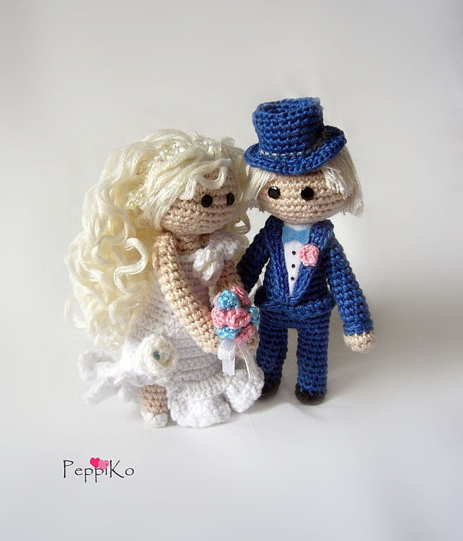 17 Best images about Y Crochet Bride and Groom Wedding on ...
