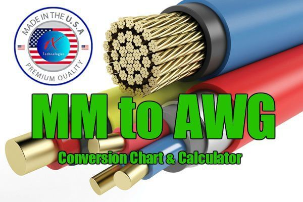 Mm To Awg Wire Size Conversion Chart Table Calculator Pdf Conversion Chart Chart Welding Flux