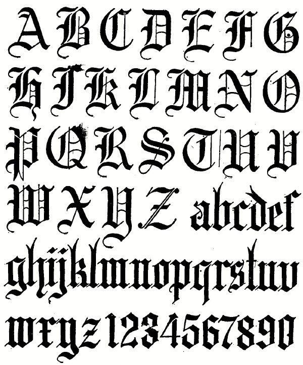 Essentials of lettering chapter caligrafia gótica
