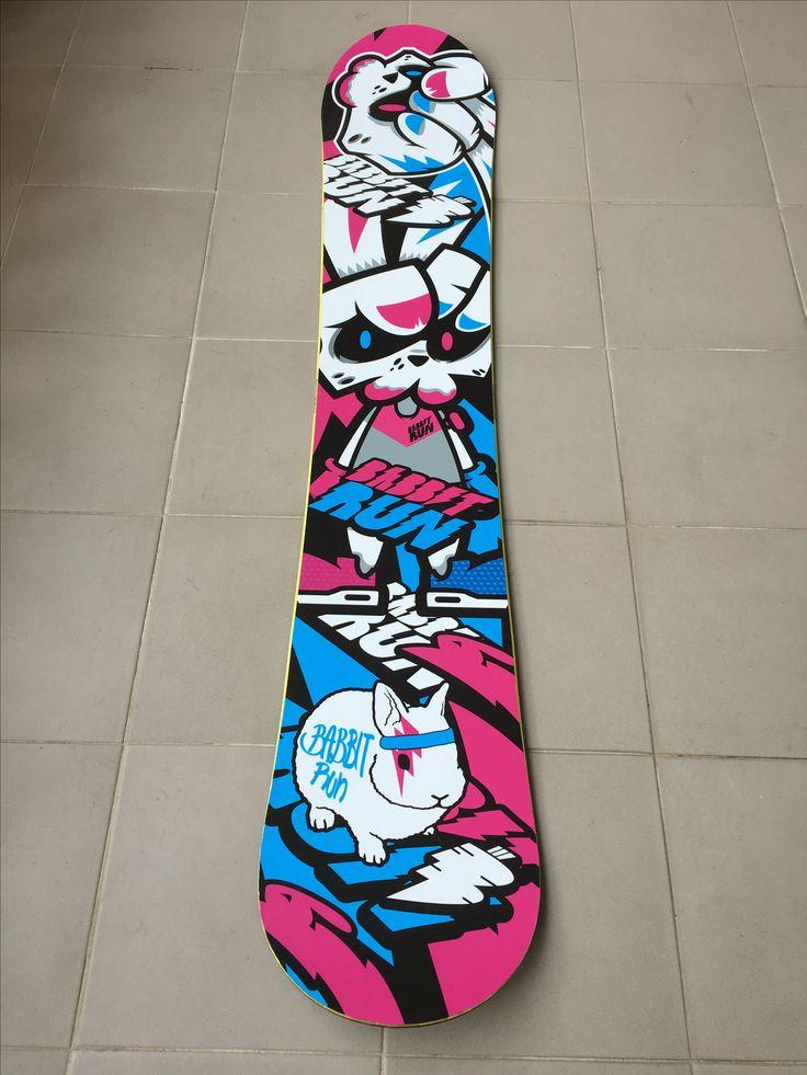 Bike rabbit. 'BABBITRUN' Extreme brand character snowboard deck tuning skin graphicer design. Designed by DOLDOL.  www.graphicer.com.  #Snowboard #skateboard #sk8 #longboard #surf #hiphop #bike #graphicer #mtb  #스노우보드 #롱보드 #그래피커 #토끼 #할리퀸 #헬멧 #graffiti #character #돌돌디자인 #일러스트 #rabbit #stickers #인스타그램 #cheetha #runing #illustration #스노우보드튜닝 #helmet #스노우보드스티커 #바빗런 #babbitrun