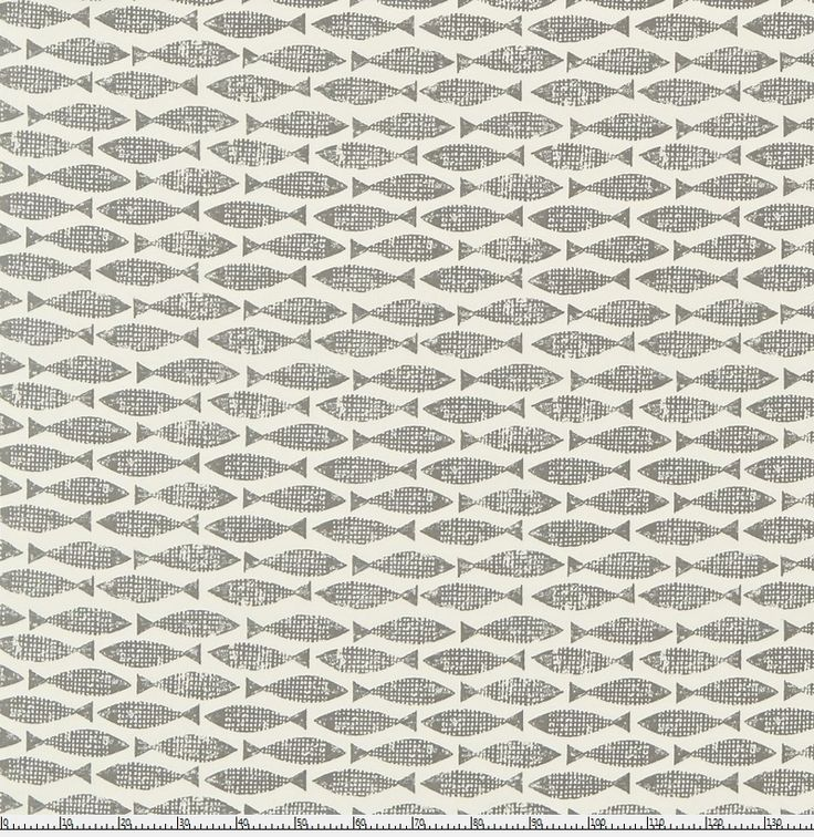 בד דגים אפור
