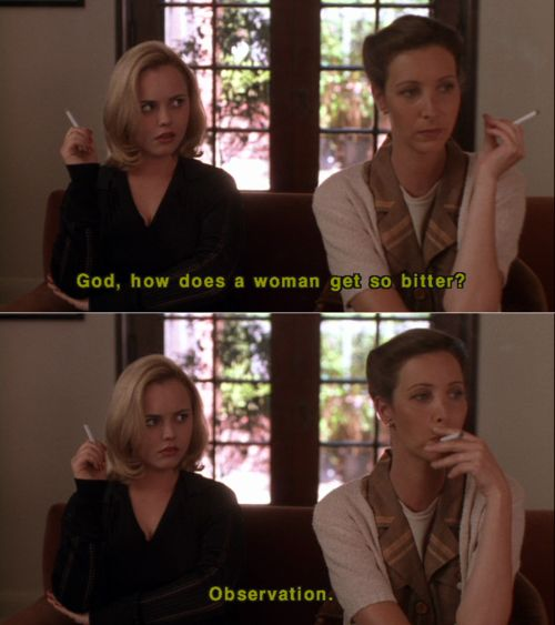 - God, how does a woman get so bitter? - Observation.    this reminds me of @Brittany C hahahaha