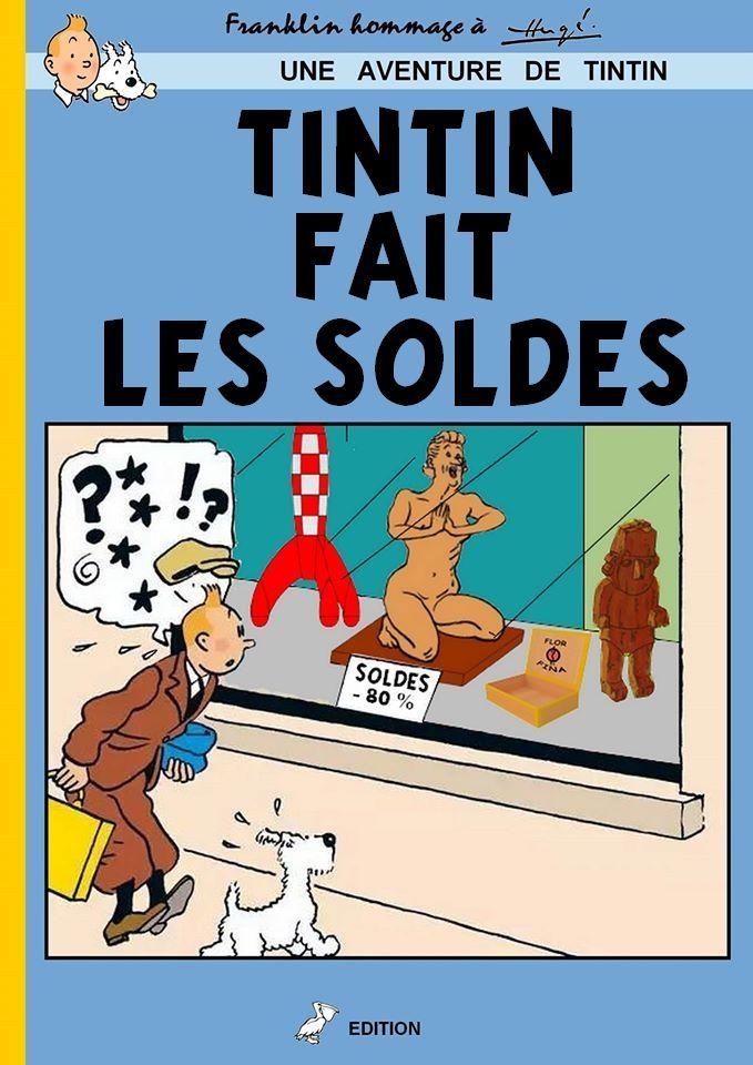 tintin PARTAGE DE JEAN MARC PAOUS.............