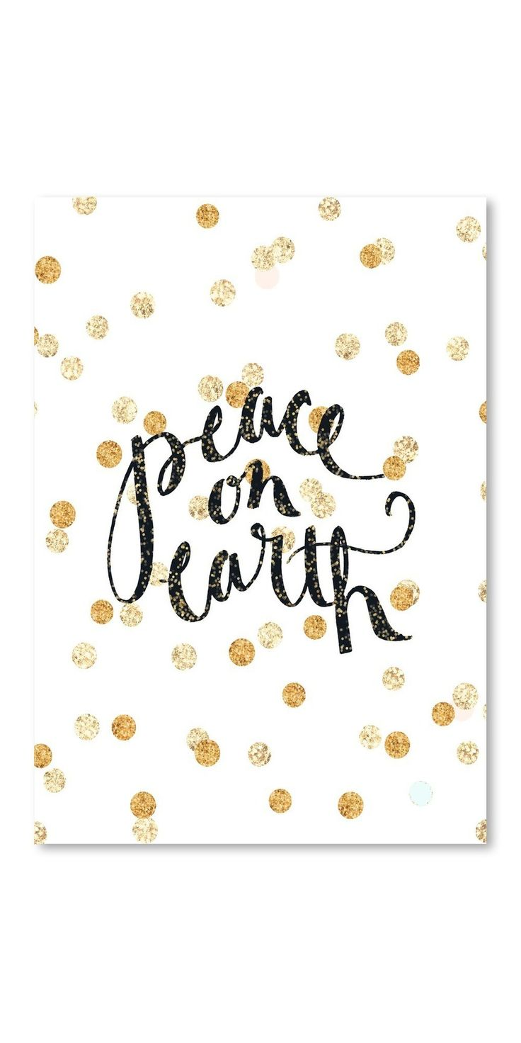 Poster Peace on Earth