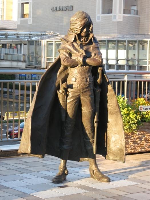 Captain Harlock - statue
