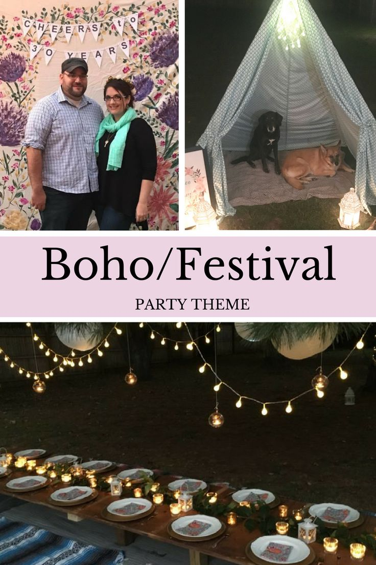 How to DIY a Boho / Festival Party Theme | First Birthday | 30th Birthday | Girls Birthday Theme | Baby Shower Theme | Girls Shower Theme – The Well Dressed Table