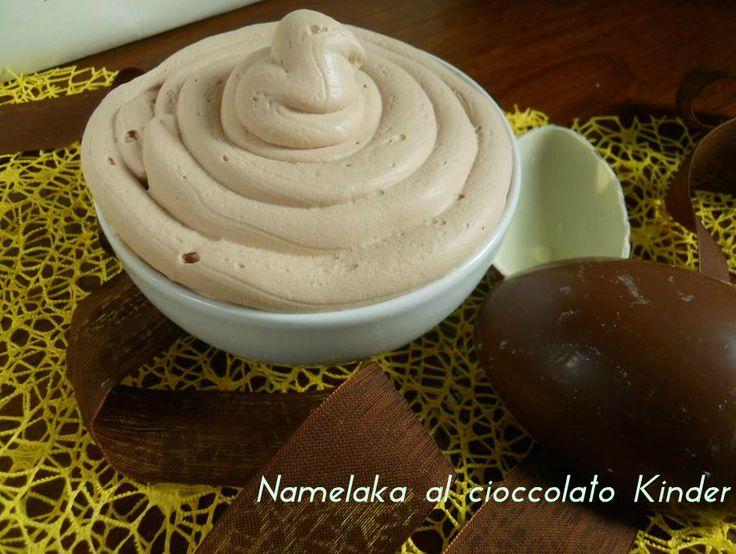 Namelaka al cioccolato kinder, ricetta dolce