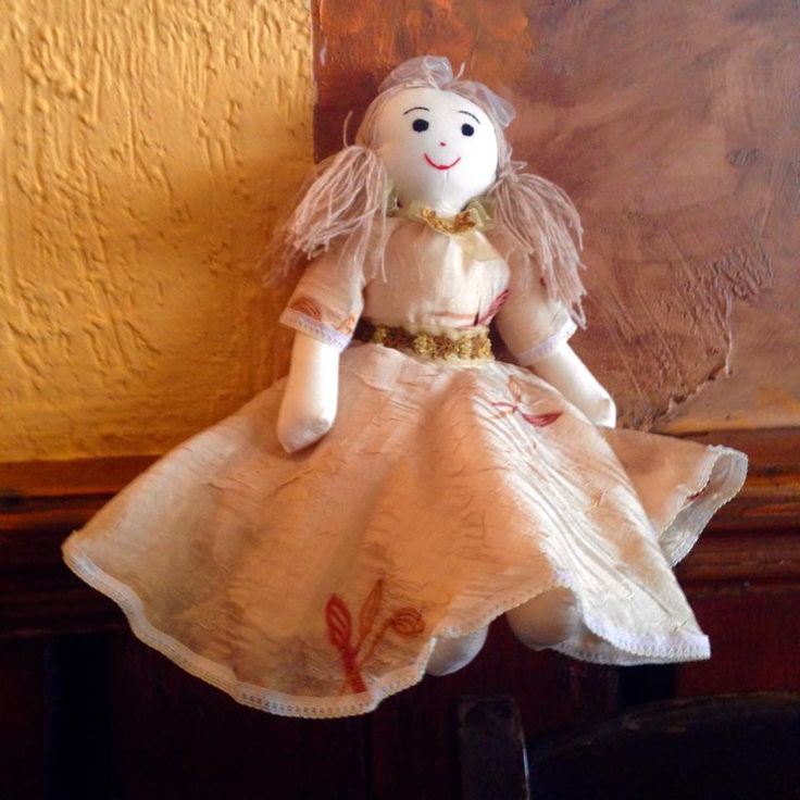 CARLA 9 - Handmade doll - What you feel is what you are and what you are is beautiful!