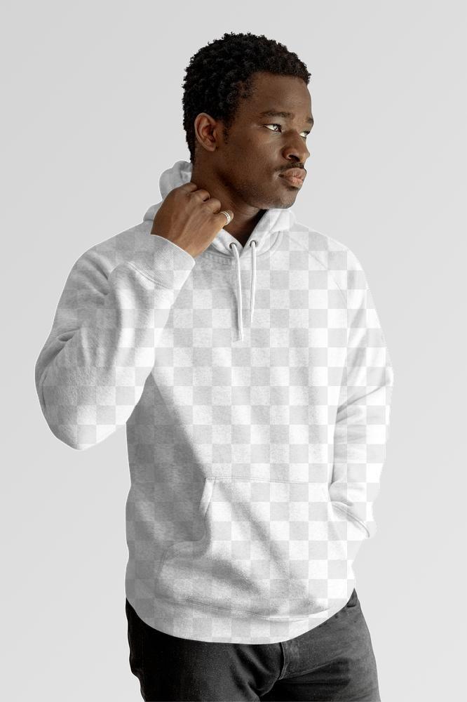 Men S Blank Hoodie Mockup Png On Black Model Premium Image By Rawpixel Com Chat Hoodie Mockup Black Models Hoodie Template