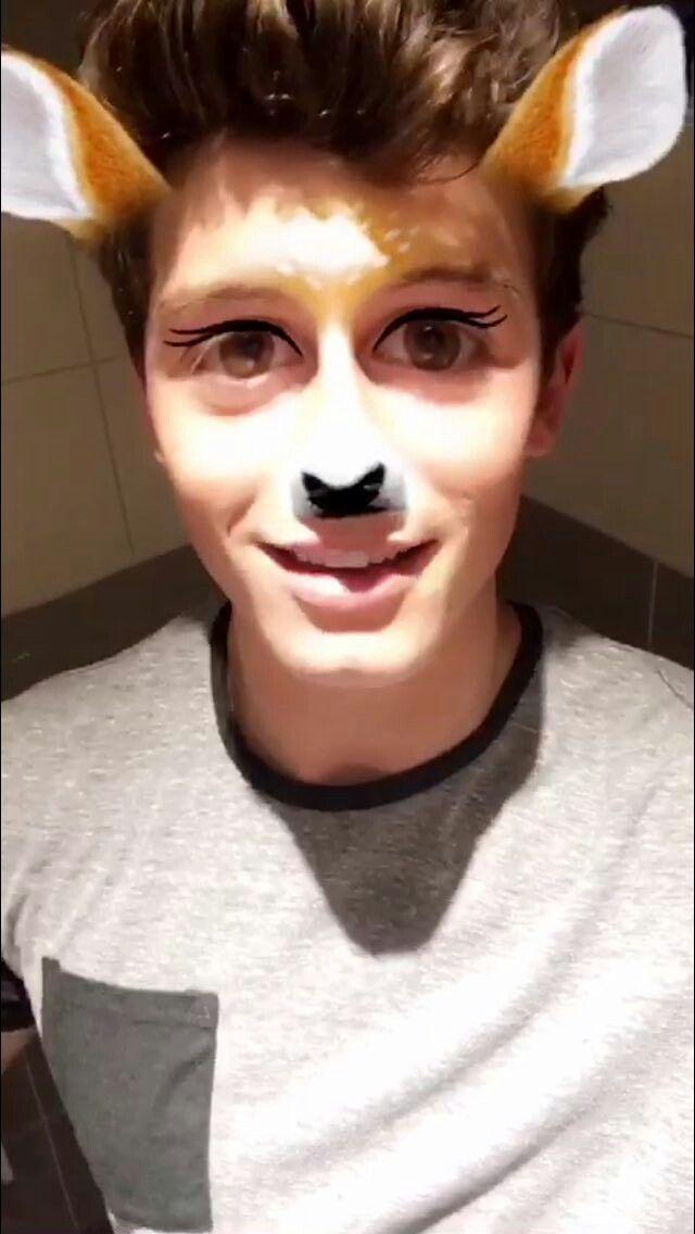 Shawn Mendes via snapchat 2016