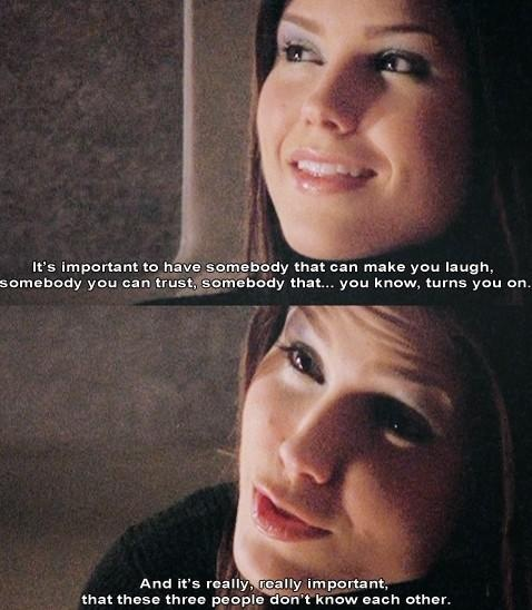 only Brooke Davis would say that