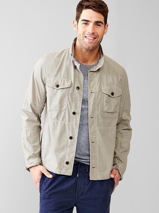 Lightweight fatigue jacket