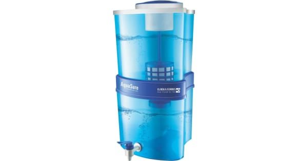 Eureka Forbes Aquasure Xtra Tuff 15 L RO Water Purifier(White, Blue) - Buy from Flipkart MRP: Rs 1999 Discount: 22% Off Buy Price: Rs 1551
