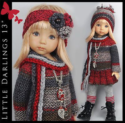 FALL-Outfit-for-Little-Darlings-Effner-13-by-Maggie-Kate-Create. Ends 9/14/14. Sold for $102.50