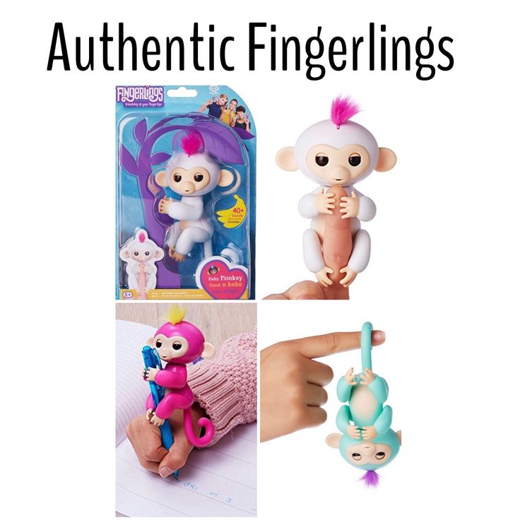 Authentic Interactive Finger Monkey  LAST order before Christmas!!! These are in HIGH demand so invoices must be paid within 1 hr of receiving and we don't hold items. Available in all colors shown (swipe to see options) $35 & free shipping. Vendors are jacking the prices up everyday due to high demand so I'm not taking orders past today-Monday 11/13 at 2pm cst. To order: comment email without the .com & color. These are in stock with the vendor and will ship to me within a few days to a…