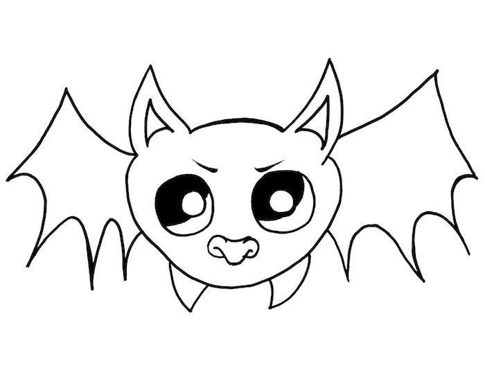 1001 + idées   Dessin halloween facile - des créatures à ...