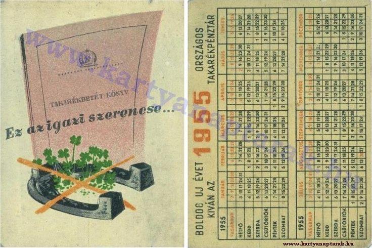 1955 - 1955_0020 - Régi magyar kártyanaptárak
