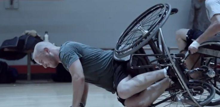 Adjacent Storytelling from Guinness: Wheelchair Basketball Ad